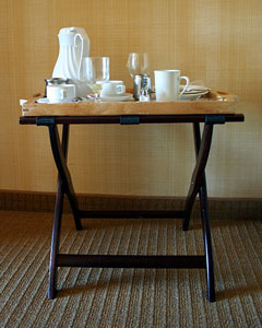 folding table - tray table